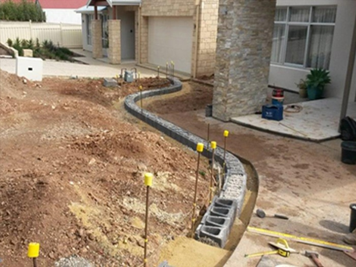 Landscaping adelaide landscapers adelaide professionals for Paving and landscaping adelaide